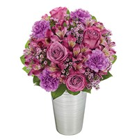 """Purple Perfection"" flower bouquet (BF311-11)"